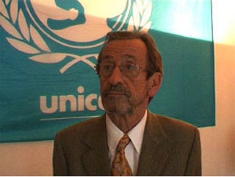 Jacques Hintzy, président de l'Unicef France