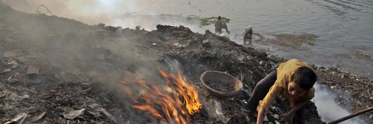 pollution de plomb au Bangladesh
