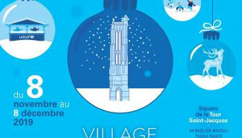 Affiche du Village international de l'enfance