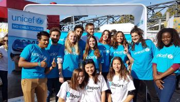 L'UNICEF France était présent au festival Youth we can