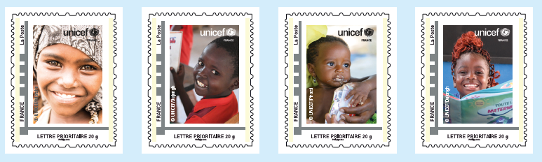 Timbres UNICEF 2020